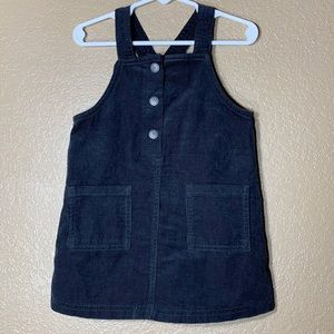 Old Navy toddler girl corduroy overall dress